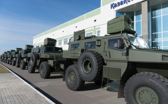 Delivery of a new batch of AWV to the Ministry of Defense of the Republic of Kazakhstan and the special services of Kazakhstan
