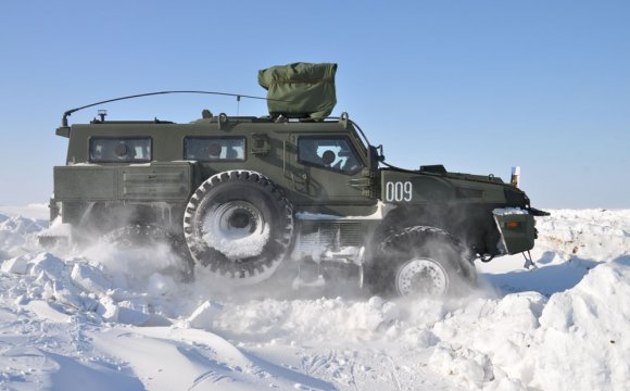"""Arlan"" armored wheeled vehicles of Kazakhstan production rescued woman in childbirth in the East Kazakhstan region"