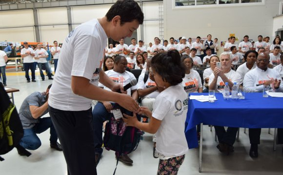 Kazakhstani children were helped as part of celebration of the international day of Nelson Mandela