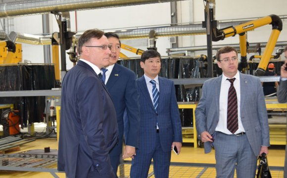 "General Directors of ""Kazakhstan Paramount Engineering"" LLP and ""Kamaz"" PJSC discussed the subject of cooperation"